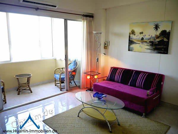 Cha-Am Meerblick Apartment mieten
