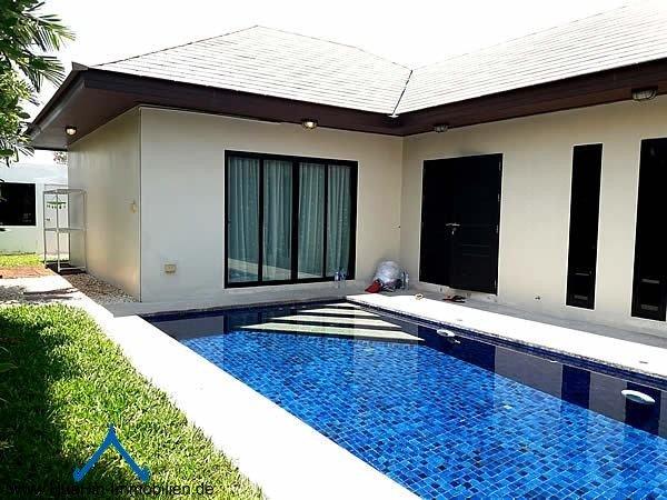 Pool Villa nahe Hua Hin Zentrum mieten