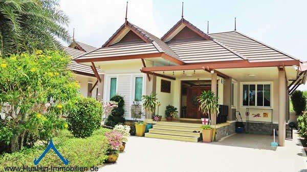 Ruhige Villa im Luxux Resort